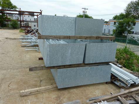 Outdoor Metal Planter Boxes