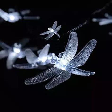 solar powered firefly led light string vistashops