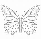 Butterfly Sundial Template Templates Printable Coloring Pages sketch template