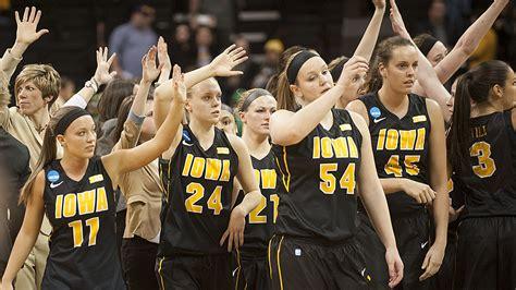 iowa womens basketball season ends  loss  notre