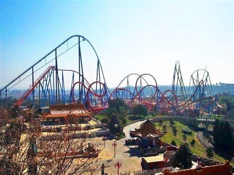 parking port aventura shambhala portaventura roller coasters theme parks
