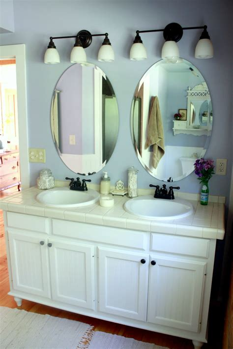 Oval Vanity Mirrors For Bathroom by Bathroom Bring A Touch Of Calm Elegance To Your Bathroom