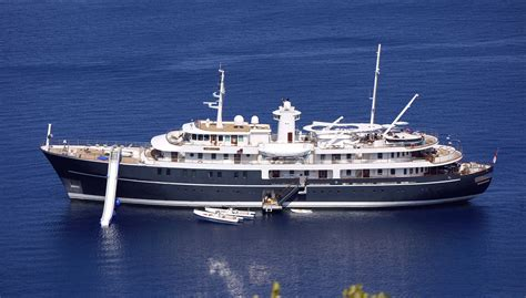 Yacht Love By Chance by 70m Sherakhan Undergoing Refit At Icon Yachts The Marine