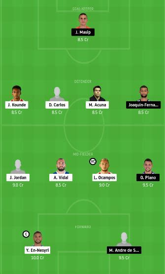 SEV vs VLD Dream11 Team fantasy Prediction: LaLiga Santander