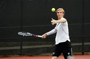 Georgia men's tennis sees mixed results in day two of hall ...