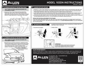 Model 103dn Instructions  D  E