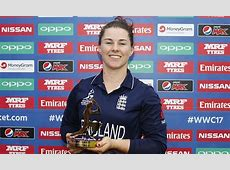 Tammy Beaumont named Player of the Tournament Daily Mail