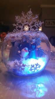 25 best ideas about frozen centerpieces on