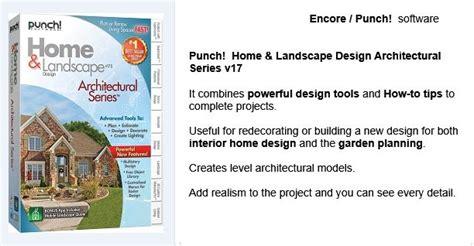 Home Design Architectural Series 18 by 14 Best Encore Punch 3d Home Landscape Design Software