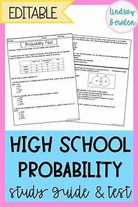 Pin On High School Probability Activities