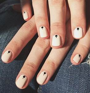 Best two color nails ideas on