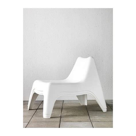ikea ps v 197 g 214 armless chair outdoor white