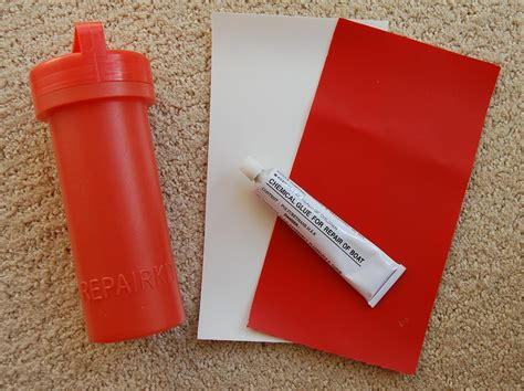 Inflatable Boat Pvc Glue by Inflatable Boat Repair Kit Pvc Patches Glue White Red Ebay