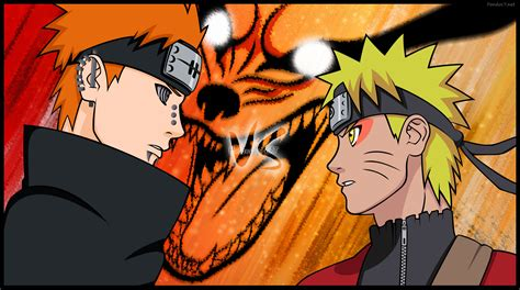 Naruto Vs Pain Wallpaper
