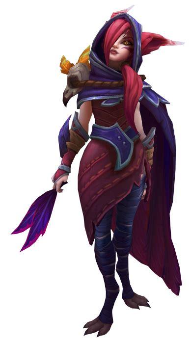 imagen xayah renderpng wiki league  legends oficial