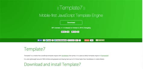 Javascript Template Engines Top 10 Templating Engines For Javascript 2018 Colorlib