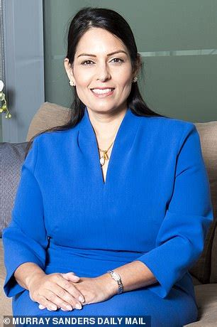 Police REBEL against Priti Patel: Crime Commissioner ...