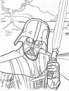 Star Wars Coloring Pages Darth Vader - Coloring Home