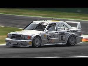 Mercedes 190 Evo 2 : mercedes 190 e 2 5 16 evo ii dtm ex rosberg glorious intake sound on track turbo and stance ~ Mglfilm.com Idées de Décoration