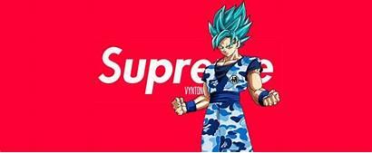Supreme Goku Wallpapers Dragon Ball Desktop Bape