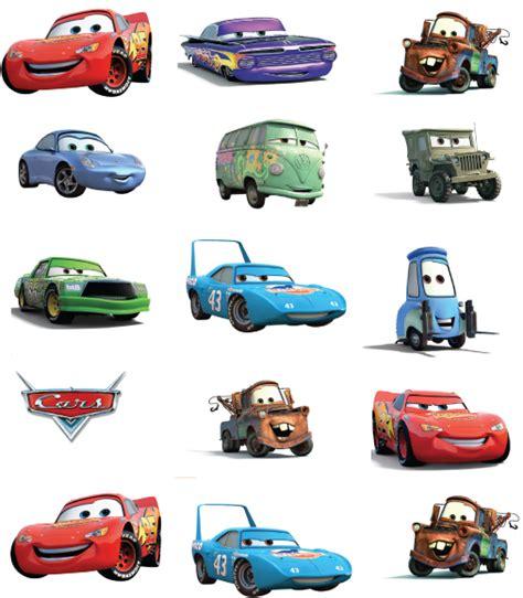 Stickers Imprimibles De Cars