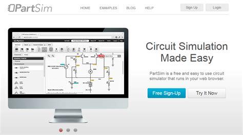 Partsim Circuit Simulator Electronic