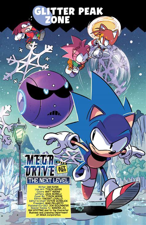 sonic mega drive   level preview  comics news