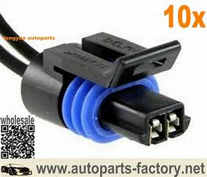 Long Yue Alternator Lead Repair 2 Wire  U0026 Plug For Delco 5si  U0026 7si Regulator Harness