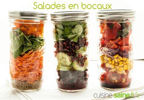 cuisine en bocaux salade en bocal ou salade jar cuisine saine sans