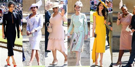 royal wedding  dressed guests prince harry