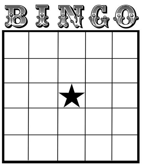 Bingo Template 25 Best Ideas About Blank Bingo Cards On