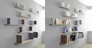 Etagere A Fixer Au Mur : etag res murales fixations invisibles biblioth que murale ~ Teatrodelosmanantiales.com Idées de Décoration
