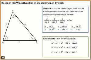 Sinus Cosinus Berechnen : trigonometrie erkl rung mit formeln und beispielen ~ Themetempest.com Abrechnung