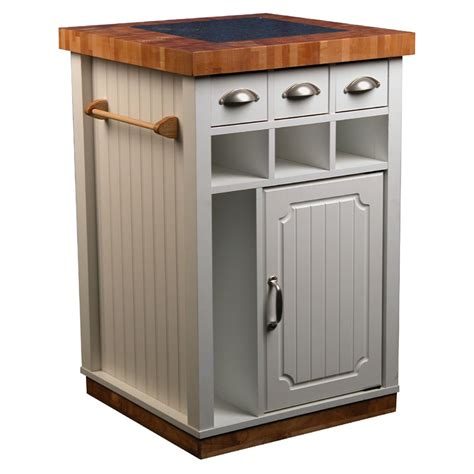 mobile kitchen island butcher block object moved