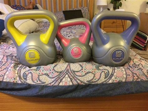 Discover the perfect partner for training and fitness. Female Kettlebell set | in Raynes Park, London | Gumtree