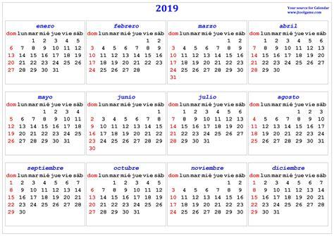 calendarios listos imprimir usar como fondos de