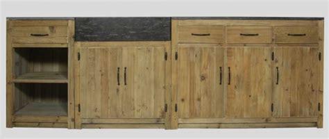 meuble cuisine en bois brut facade meuble cuisine bois brut myqto com