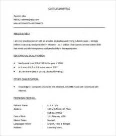 Resume Sle Templates Doc 632900 Best Resume Template 2017 Bizdoska Com