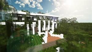 Large Modern Minecraft Mansion Villa Pictures