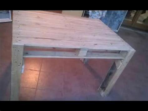 Costruire Un Tavolo Coi Bancali by Costruire Un Tavolo Con I Pallets Table Made From