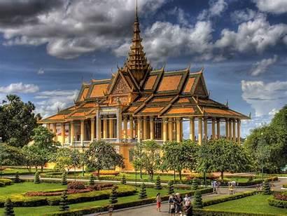 Wallpapers Palace Cambodia Royal Palaces Castles Penh