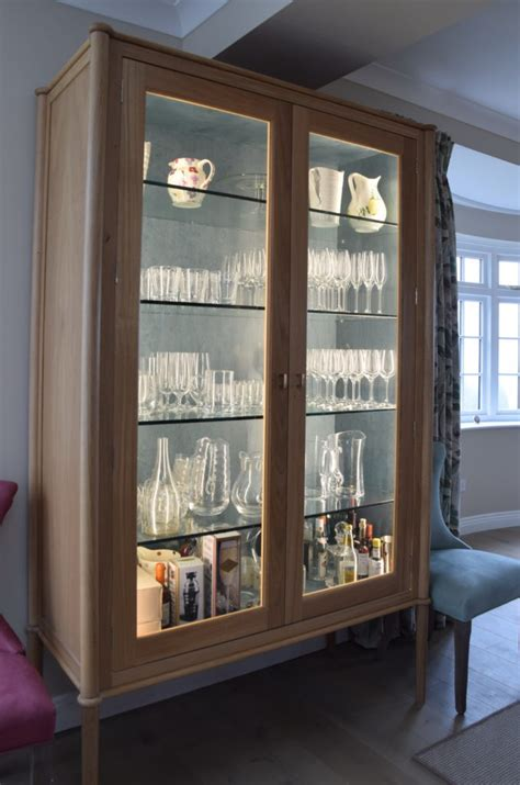 glass display cabinet exceptional design   living
