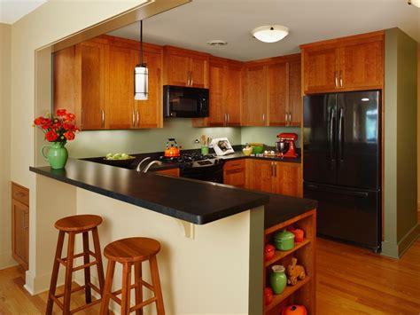 peninsula kitchen design барная стойка в интерьере небольшой кухни 1457