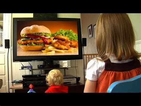 cuisine tv junk food ads and