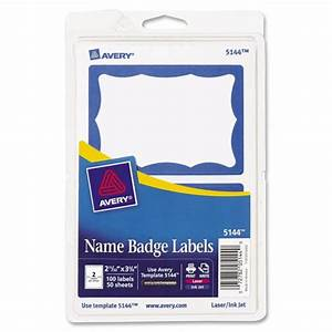 printer With avery name tag labels