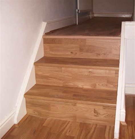 parquet flooring stairs oak 3 strip stair case and floor