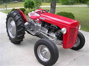 1951 harry ferguson to-20 tractor restored