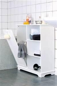 Badregal Mit Wäschekorb : badezimmerschrank mit w schekippe ~ Whattoseeinmadrid.com Haus und Dekorationen
