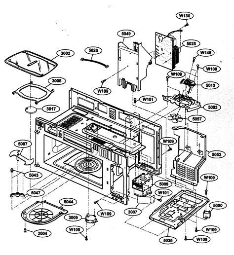 kenmore microwave parts diagram hanenhuusholli