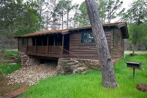 bastrop state park cabin  texas parks wildlife department